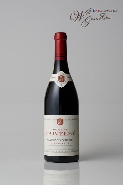 クロ ド ヴージョ2006 ドメーヌ ファヴレ フランス ヴージョ 赤ワインミディアムボディ CLOS DE VOUGEOT2006 DOMAINE FAIVELEY 高級ワイン 贈答品