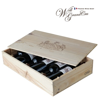 【送料無料】コス デストゥルネル2007木箱付き6本フランス サン・テステフ 赤ワイン フルボディCH.COS D'ESTOURNEL2007(@15,700)高級ワイン 贈答品