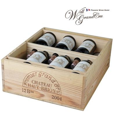 【送料無料】オーブリオン2004木箱付き12本フランス ペサック・レオニャン 赤ワイン フルボディCH.HAUT-BRION2004(@44,175)高級ワイン 贈答品