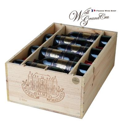 【送料無料】パルメ1996木箱付き12本 フランス マルゴー 赤ワイン フルボディCH.PALMER1996(@42,750 高級ワイン 贈答品