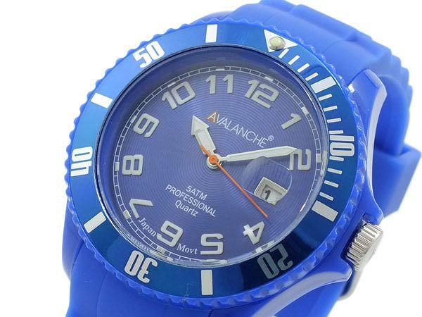 送料無料 AVALANCHE アバランチ 腕時計 メンズ Men's 時計 ブルー 青 人気 ブランド アバランチ腕時計 アバランチ時計 AVALANCHE腕時計 AVALANCHE時計 アヴァランチ うでどけい とけい オシャレ お洒落 カジュアル オススメ ランキング 男性 誕生日 プレゼント ギフト