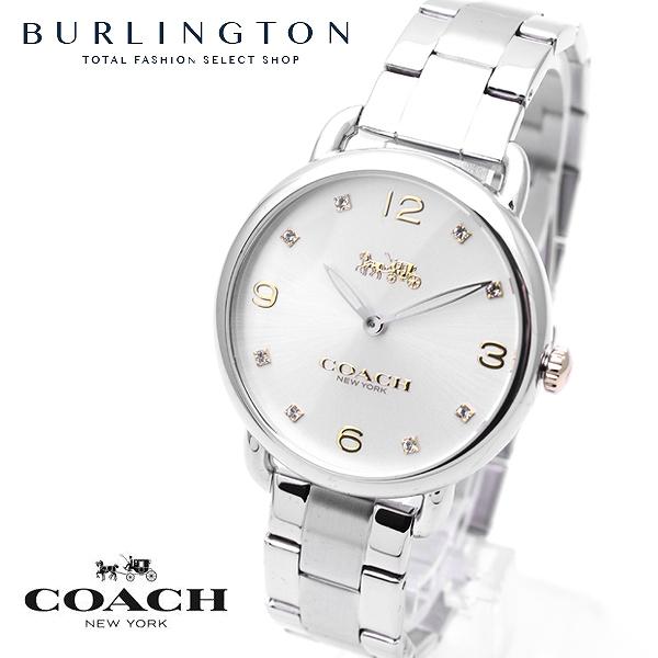コーチ 腕時計 レディース COACH シルバー デランシー 14000056 ブレスレット 付き コーチ腕時計 コーチ時計 COACH腕時計 COACH時計 人気 ブランド 時計 おしゃれ かわいい 女性 誕生日 ギフト プレゼント
