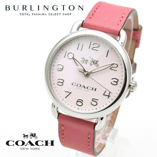 コーチ 腕時計 レディース COACH デランシー 14502717 ピンク レザーベルト コーチ腕時計 コーチ時計 COACH腕時計 COACH時計 人気 ブランド 時計 おしゃれ かわいい 女性 誕生日 ギフト プレゼント