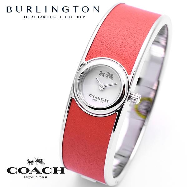 コーチ 腕時計 レディース COACH 14502733 ホワイト レッド バングル ブレスレット コーチ腕時計 コーチ時計 COACH腕時計 COACH時計 人気 ブランド 時計 おしゃれ かわいい 女性 誕生日 ギフト プレゼント