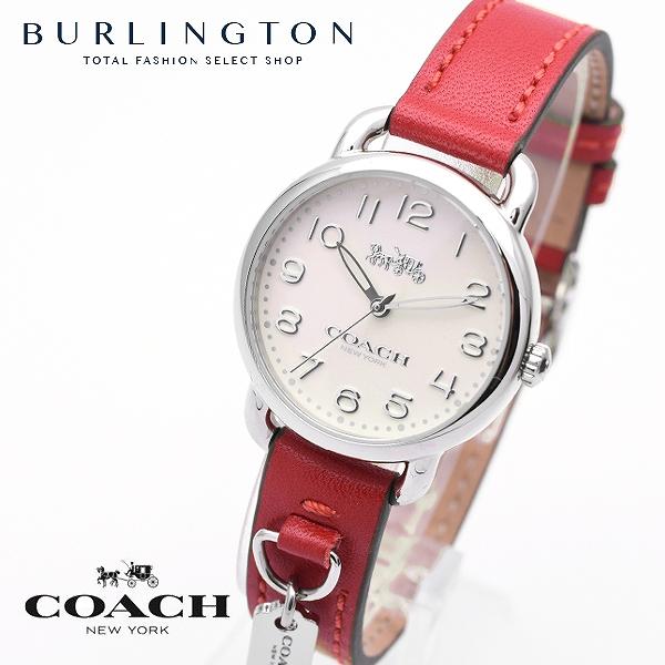 コーチ 腕時計 レディース COACH 14502814 デランシー レッド 赤 コーチ腕時計 コーチ時計 COACH腕時計 COACH時計 人気 ブランド 時計 おしゃれ かわいい 女性 誕生日 ギフト プレゼント