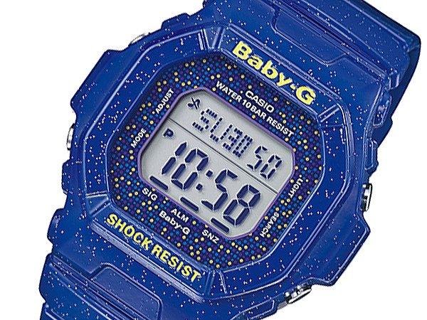 Baby-G ベビーG 腕時計 レディース コズミックフェイス 時計 BG-5600GL-2 ネイビー 人気 ブランド CASIO カシオ ベイビーG BabyG ベイビージー ベビージー おしゃれ 女性 ランキング 誕生日 ギフト プレゼント
