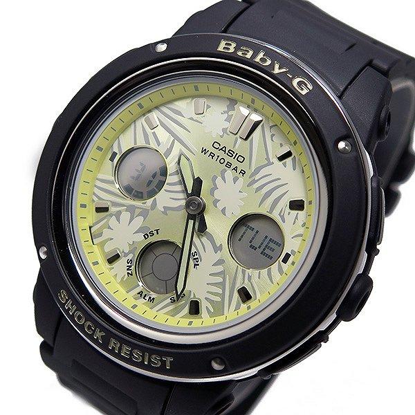 カシオ ベビージー Baby-G クオーツ レディース 腕時計 BGA-150F-1A イエロー