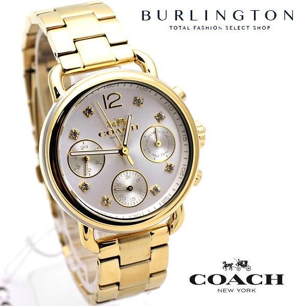 コーチ 腕時計 レディース COACH デランシー シルバー ゴールド 14502943 カレンダー 人気 ブランド 時計 女性 ギフト プレゼント 無料 ラッピング