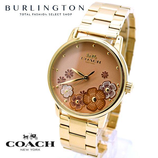 コーチ 腕時計 レディース COACH GRAND グランド ベージュ ゴールド 14503006 人気 ブランド 時計 女性 ギフト プレゼント 無料 ラッピング