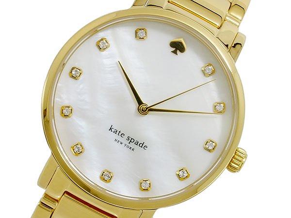 Kate Spade ケイトスペード 腕時計 レディース Ladies 時計 1YRU0007 ホワイトシェル ゴールド 人気 ブランド ケイトスペード腕時計 ケイトスペード時計 かわいい 可愛い オススメ おしゃれ 女性 ギフト プレゼント