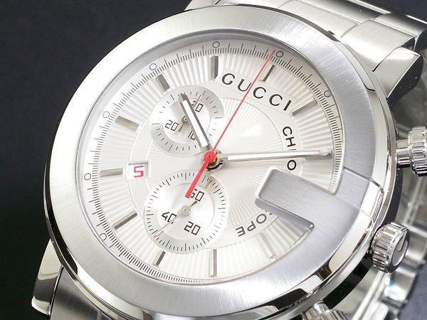 お見舞い GUCCI メンズ グッチ 腕時計 メンズ うでどけい Men's 時計 プレゼント クロノグラフ YA101339 シルバー 人気 高級 ブランド グッチ腕時計 グッチ時計 オススメ おしゃれ うでどけい 男性 ギフト プレゼント, でりかおんどる:1cd822e8 --- hafnerhickswedding.net