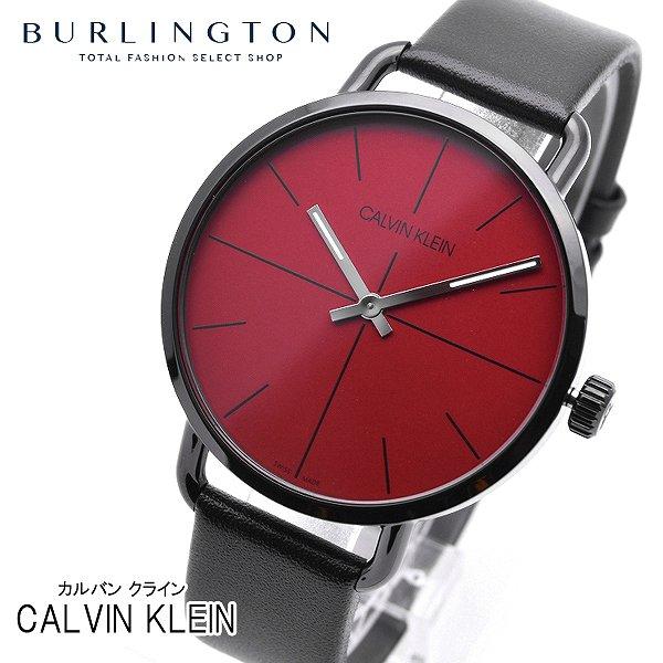 カルバン クライン 腕時計 メンズ Calvin Klein イーブンエクステンション K7B214CP レッド ブラック カルバン・クライン ブランド 人気 時計 カルバンクライン おしゃれ 男性 お祝い 誕生日 ギフト クリスマス プレゼント
