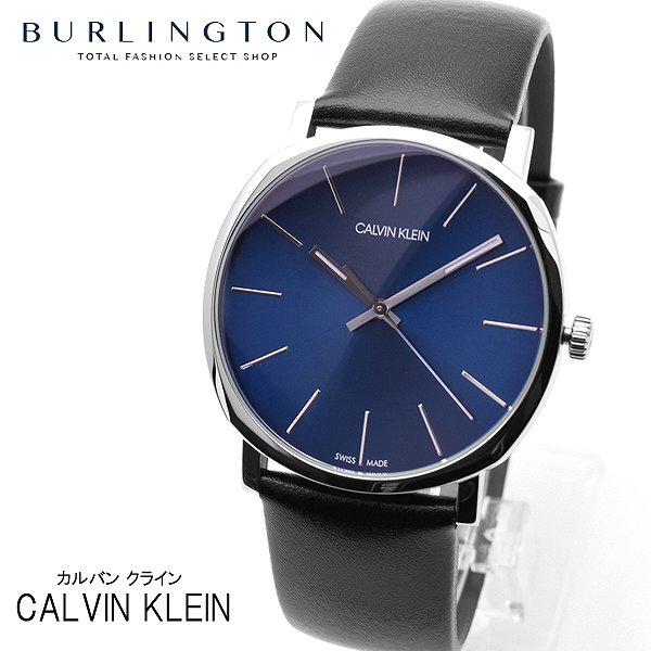 カルバン クライン 腕時計 メンズ Calvin Klein ポッシュ K8Q311CN ブルー ブラック カルバン・クライン ブランド 人気 時計 カルバンクライン おしゃれ 男性 お祝い 誕生日 ギフト クリスマス プレゼント