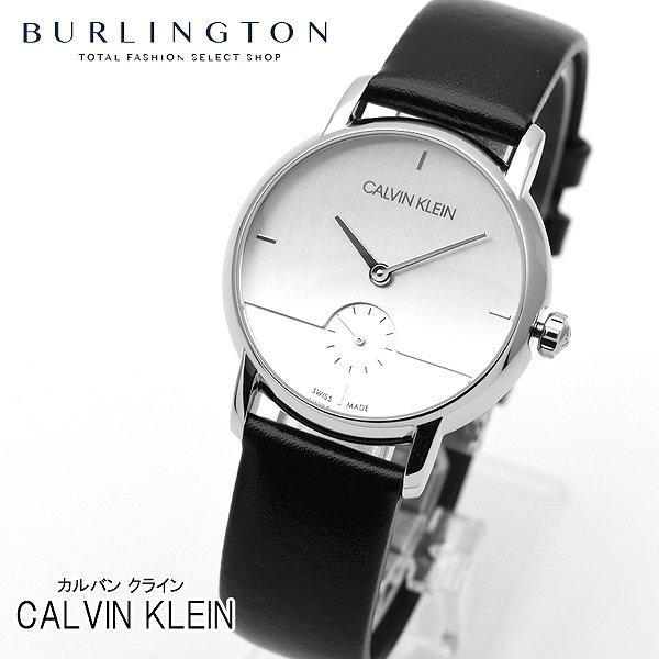 カルバン クライン 腕時計 レディース Calvin Klein K9H2Y1C6 シルバー ブラック スモールセコンド カルバン・クライン ブランド 人気 時計 カルバンクライン おしゃれ 女性 お祝い 誕生日 ギフト クリスマス プレゼント