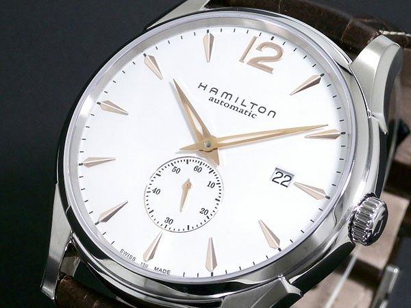 ハミルトン 腕時計 メンズ HAMILTON ジャズマスター スリム H38655515 人気 ブランド 男性 父 誕生日 お祝い ギフト プレゼント