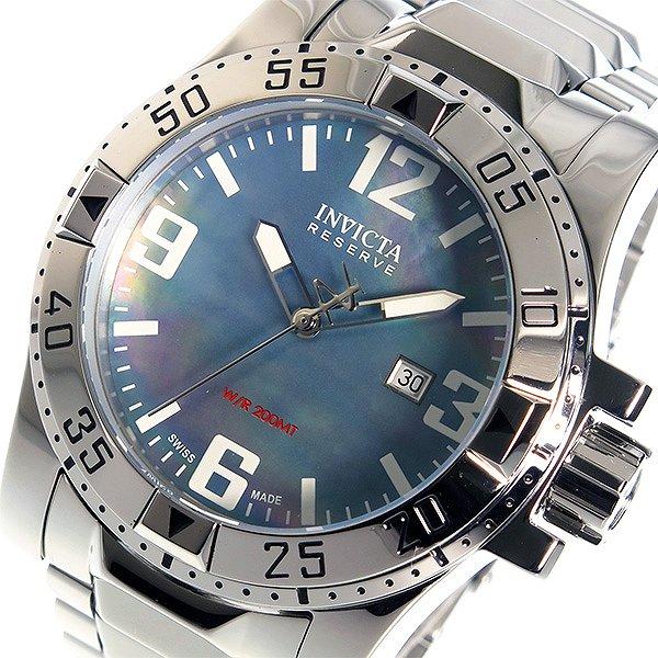 インヴィクタ INVICTA クオーツ メンズ 腕時計 6245 ブルーシェル シルバー 200M 防水 人気 ブランド インビクタ腕時計 インヴィクタ腕時計 激安 セール sale 男性 ギフト プレゼント