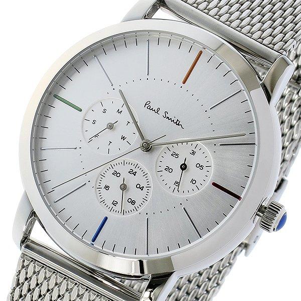 """送料無料 ポールスミス PAUL SMITH エムエー MA クオーツ メンズ 腕時計 P10111 シルバー 人気 海外 ブランド 時計 ポールスミス腕時計 ポールスミス時計 Men""""s ポール・スミス 激安 セール 男性用 ポール スミス"""
