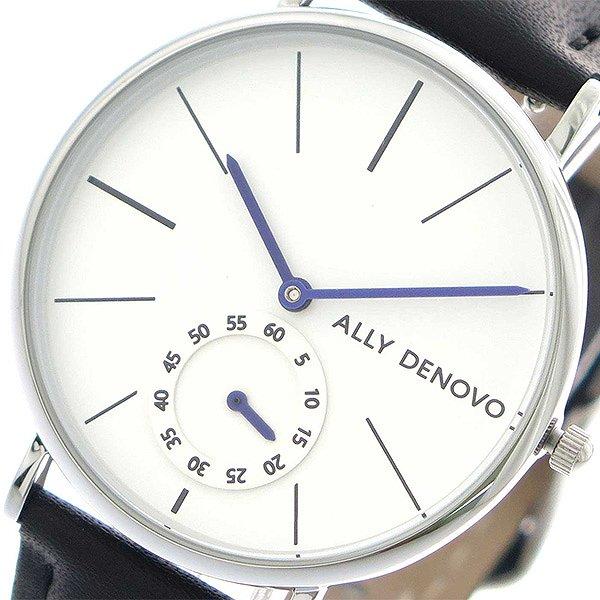 アリーデノヴォ 腕時計 レディース ALLY DENOVO 36mm AF5001-1 HERITAGE SMALL ホワイト ブラック 人気 ブランド アリーデノヴォ腕時計 アリーデノヴォ時計 おしゃれ 可愛い アリー デノヴォ 時計 女性 ギフト プレゼント