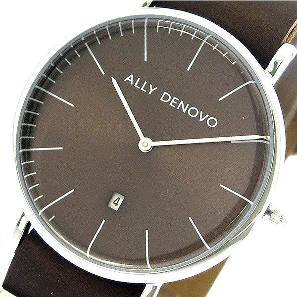 アリーデノヴォ 腕時計 レディース ALLY DENOVO 40mm AM5015-1 HERITAGE ブラウン 人気 ブランド アリーデノヴォ腕時計 アリーデノヴォ時計 おしゃれ 可愛い アリー デノヴォ 時計 女性 ギフト プレゼント