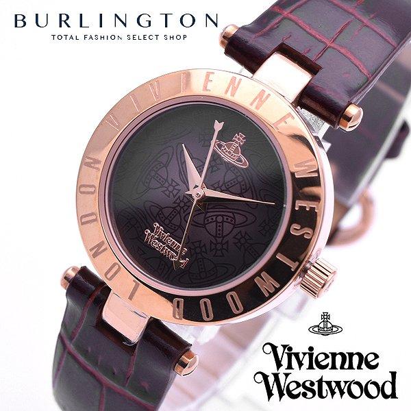 送料無料 Vivienne Westwood ヴィヴィアンウエストウッド 腕時計 レディース オーブ 文字盤 VV092BRBR ブラウングラデーション × レッドブラウン系 ベルト ピンクゴールド ケース 人気 ブランド 時計 ビビアン かわいい 激安 セール 女性 ギフト プレゼント