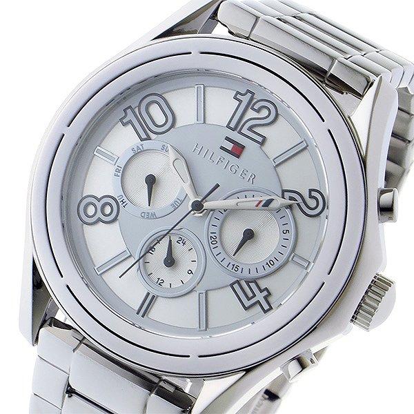 送料無料 トミー ヒルフィガー TOMMY HILFIGER クオーツ メンズ 腕時計 1781650 ホワイト シルバー 人気 アメリカ カジュアル ブランド ウォッチ トミーヒルフィガー おしゃれ おすすめ 時計 男性 ギフト 誕生日 プレゼント