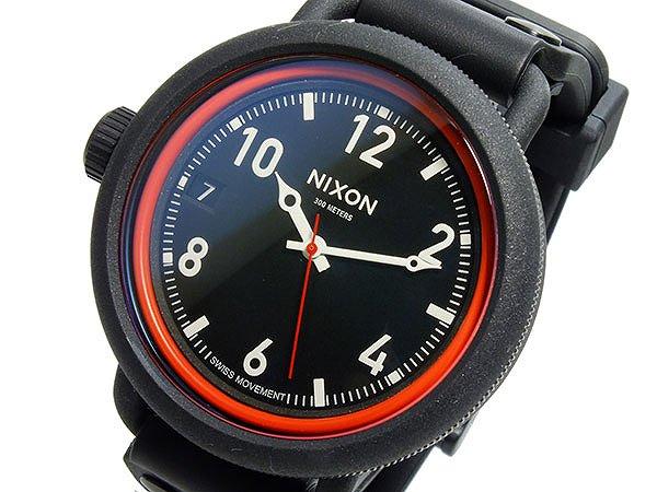 送料無料 ニクソン NIXON OCTOBER クオーツ メンズ 腕時計 A488-760 ドーム型 硬質ミネラルガラス 300M防水 ブラック 黒 人気 ブランド 時計 NIXON腕時計 NIXON時計 ニクソン腕時計 ニクソン時計 おしゃれ おすすめ ウォッチ 激安 男性 ギフト 誕生日 プレゼント