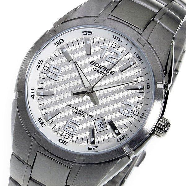 エディフィス 腕時計 メンズ EDIFICE 時計 CASIO カシオ EF-125D-7AV ホワイト シルバー 人気 ブランド エディフィス腕時計 エディフィス時計 EDIFICE時計 EDIFICE腕時計 ビジネス 就職祝い 男性 ギフト プレゼント