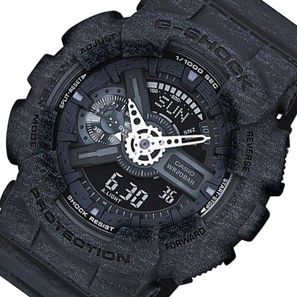 カシオ CASIO Gショック アナデジ メンズ 腕時計 GA-110HT-1A ブラック 黒 人気 ブランド G-ショック ジーショック ウォッチ 男性 ギフト クリスマス プレゼント