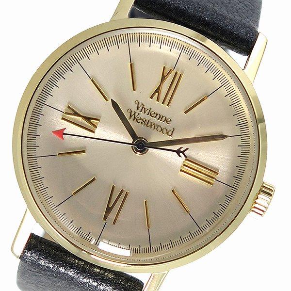ヴィヴィアンウエストウッド 腕時計 レディース 時計 Vivienne Westwood VV170GYBK シャンパンゴールド ブラック 人気 ブランド ヴィヴィアン ウエストウッド かわいい 可愛い ウォッチ ビビアン 女性 誕生日 ギフト プレゼント
