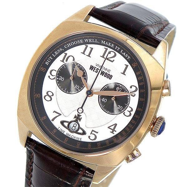 ヴィヴィアンウエストウッド 腕時計 メンズ Vivienne Westwood 時計 VV176WHBR ホワイト 人気 ブランド ヴィヴィアン ウエストウッド ビビアン Vivienne時計 Vivienne腕時計 カジュアル 男性 ギフト プレゼント