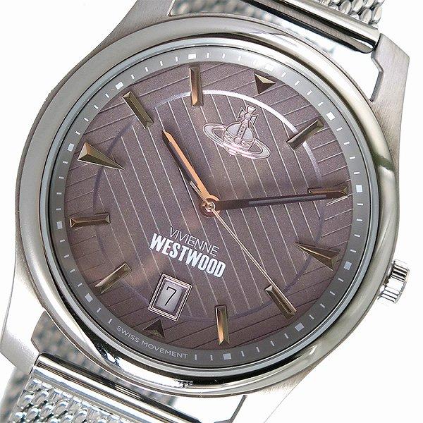 ヴィヴィアンウエストウッド 腕時計 メンズ Vivienne Westwood 時計 VV185GYSL グレー 人気 ブランド ヴィヴィアン ウエストウッド ビビアン Vivienne時計 Vivienne腕時計 カジュアル 男性 ギフト プレゼント