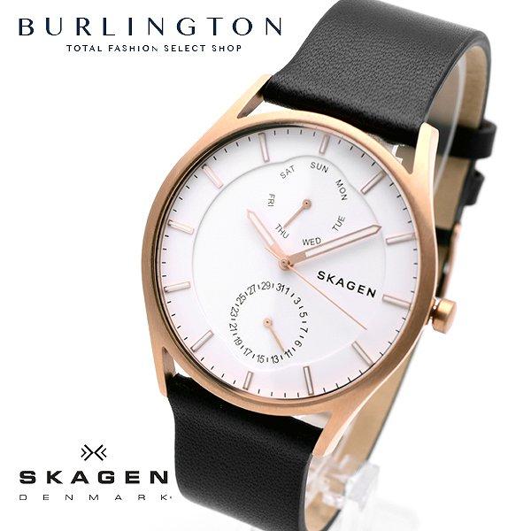 送料無料 スカーゲン 腕時計 メンズ SKAGEN 時計 SKW6372 ホワイト ネイビー 人気 デンマーク ブランド スカーゲン腕時計 スカーゲン時計 おしゃれ スリム ウォッチ 男性 就職祝い 誕生日 ギフト プレゼント