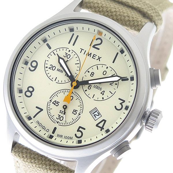 タイメックス 腕時計 メンズ TIMEX TW2R47300 クォーツ アイボリー 時計 人気 ブランド タイメックス腕時計 タイメックス時計 TIMEX腕時計 TIMEX時計 おしゃれ 男性 ギフト プレゼント
