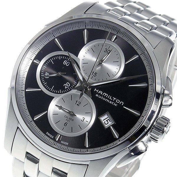 送料無料 HAMILTON ハミルトン 腕時計 メンズ ジャズマスター クロノ 自動巻き 時計 H32596181 グレー シルバー 人気 ブランド ハミルトン腕時計 ハミルトン時計 男性 ギフト プレゼント ラッピング可
