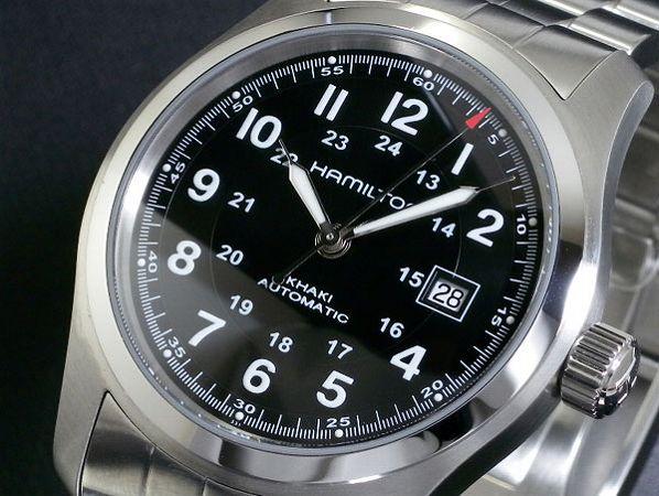 HAMILTON ハミルトン 腕時計 メンズ 時計 カーキ フィールド オート 自動巻き H70515137 人気 高級 ブランド HAMILTON腕時計 HAMILTON時計 ハミルトン腕時計 ハミルトン時計 シルバー ステンレス ベルト 男性 プレゼント ギフト