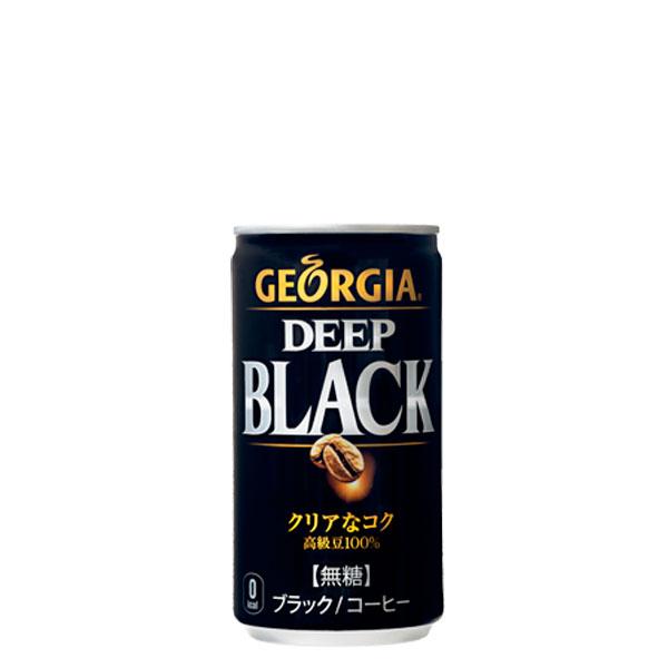 【3ケースセット】ジョージア ディープブラック 185g缶 30本入×3ケース
