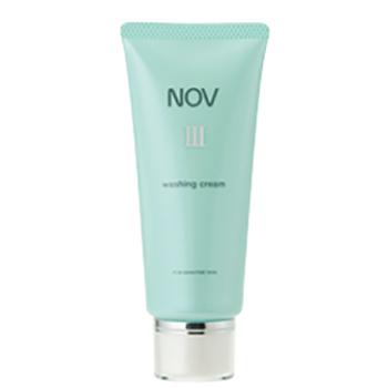 全品最安値に挑戦 肌あれ 乾燥が気になるお肌のための洗顔料 NOV ノブ ウォッシングクリーム ノブIIIシリーズノブIII 35%OFF 120g~洗顔料~