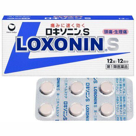 頭痛 誕生日/お祝い 生理痛 倦怠感 風邪に早く効かせたい方に 第1類医薬品 祝開店大放出セール開催中 ロキソニンS 12錠