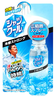供小林製藥襯衫酷強壯薄荷衣服使用的酷的噴霧器(100ml)健康