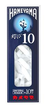 カメヤマ ローソク 灯しび 10号 極小 豆ダルマ (約120g) ろうそく