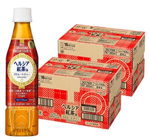 《2ケースセット》 花王 ヘルシア 紅茶 (350mL×24本)×2ケース 特定保健用食品 トクホ 【送料無料】 【smtb-s】 ※軽減税率対象商品