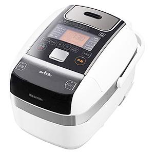 アイリスオーヤマ 米屋の旨み 銘柄量り炊き 圧力IHジャー炊飯器 3合 分離なし RC-PC30-W ホワイト (1台)