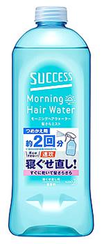 花王 ファッション通販 サクセス モーニングヘアウォーター 髪さらミスト つめかえ用 詰め替え用 ヘアミスト 世界の人気ブランド 440mL 男性用