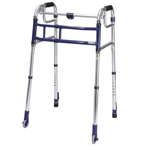 ユーバ産業 送料無料 スライドフィット 超ハイタイプ HT-0193S 歩行器 室内 固定式 幅伸縮 歩行器 歩行補助 サポート 施設 病院