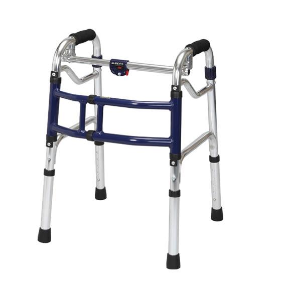 固定型歩行器 スライドフィット ミニタイプ M-0188 在宅用 室内用 コンパクト 幅調整 狭い廊下 お部屋 歩行補助 サポート 送料無料