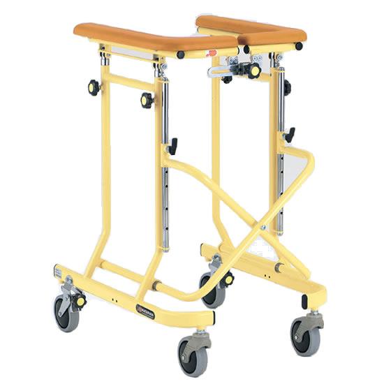 送料無料 室内用 歩行器 歩行車 4輪 キャスター付 自宅 施設 病院 歩行補助 松永製作所 ホップステップシリーズ SM-30 4輪歩行器 抵抗器 幅調整 高さ調整 シンプル スタンダード 使いやすい プレゼント 母の日