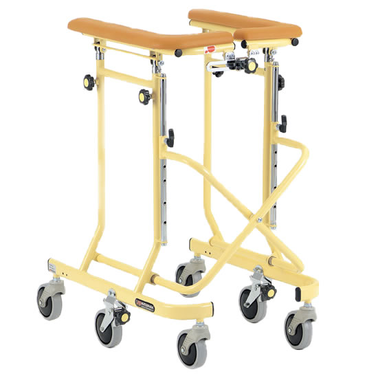 送料無料 室内用 歩行器 歩行車 6輪 キャスター付 自宅 施設 病院 歩行補助 松永製作所 ホップステップシリーズ SM-35 6輪歩行器 抵抗器 幅調整 高さ調整 シンプル スタンダード 使いやすい プレゼント 母の日