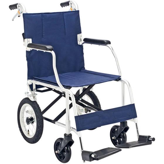 送料無料 車椅子 コンパクト 軽量 スリム 収納便利 廊下 狭い場所 ストライプ 旅行 買い物 持ち運び 車 トランク 介助用ブレーキ 折り畳み 折りたたみ マキテック FINE ファイン 介助用 車いす 車イス くるまいす プレゼント 父の日