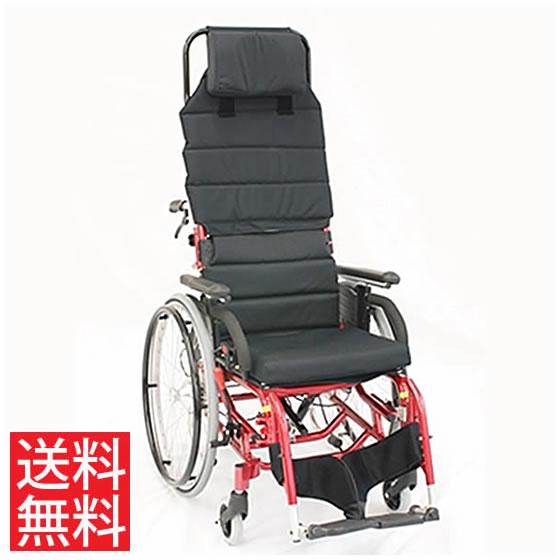 車椅子 ティルト リクライニング 座位保持 カナヤママシナリー LAPPOⅢ ラッポ3 標準仕様 ハイバック付き 介助用 厚クッション