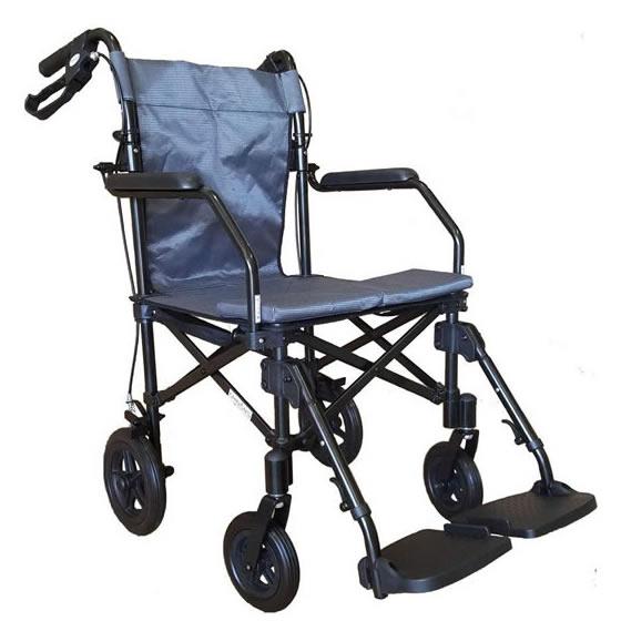 チノンズ 簡易車椅子 ジョイチェアー 携帯バッグ付き | 送料無料 車椅子 軽量 折り畳み 介助用 コンパクト 折り畳み 持ち運び 携帯 旅行 お出かけ 通院 軽い 収納 折りたたみ JoyChair